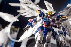 GUNDAM Guy: P-Bandai Exclusivo: RG 'Seraphim pluma' Efecto Set Parte 1/144 Gundam Wing Zero Custom EW - On Display @ Gunpla Expo World Tour 2014 (Japón) [Actualizado 22/11/14]