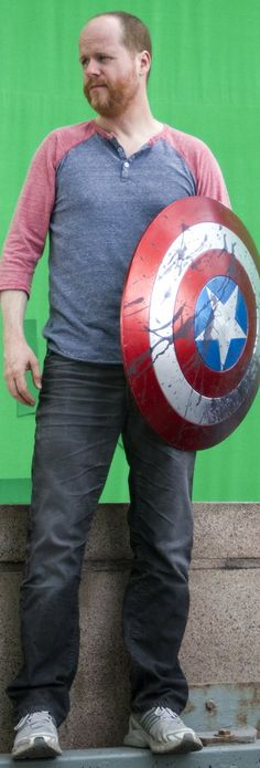 Joss Whedon!!! I swear, this man owns half of my life, and Steven Moffat owns the other half!