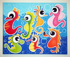 fish painting - Google Search