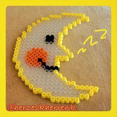 Moon hama beads by  herzevkherrenk