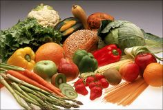 Healthy foods with antioxidants