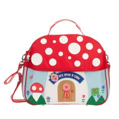 Adorable OILILY mushroom bag