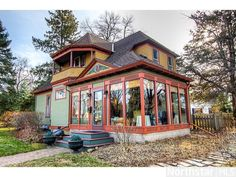 From the parade porch to the amazing original woodwork and leaded glass windows, this Stillwater, MN home is a turn-of-the-century gem.