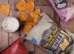 Packaging with Personalities, Tesco Tortilla Chips & Dips by Designeur Tortilla Chip Brands, Dip For Tortilla Chips, Food Packaging, Brand Packaging, Snack Brands, Packaging Design Inspiration, Dips, Snacks, Tortillas