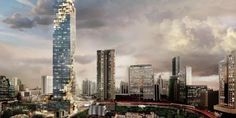 The new tallest building in Thailand looks like a pixelated image in…