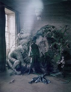 Xiao Wen Ju for Tim Walker, W, set design and art direction Shona Heath