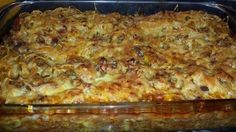 Wil ophou maar kan nie ( verminder die spaghetti in half) Minced Beef Recipes, Minced Meat Recipe, Mince Recipes, Savoury Recipes, Cake Recipes, Mince Dishes, Savoury Dishes, Food Dishes, Savoury Tarts