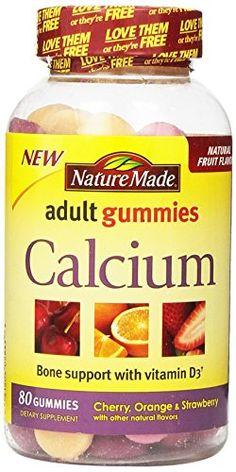 Gummy calcium adult