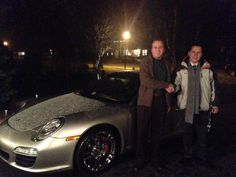 Our Porsche specialist Nick taking care of business anytime of day, any weather, that's how we do it! Congratulations on your new Porsche, welcome to the Porsche of Arlington family! #mycarmonday #mncm #newride #newcar #neuwagen #Porsche #Arlington #RosenthalAuto