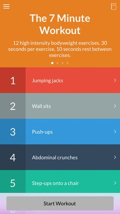 The 7 Minute Workout.