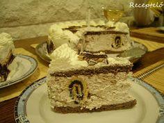 Az öcsém 13. szülinapjára készült ez a torta. Kiskuktánál  láttam meg ezt a tortát és annyira felcsigázott, hogy erre esett a választás. N... Latte, Food, Essen, Meals, Yemek, Eten