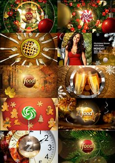 marcos vaz's Portfolio FOOD NETWORK HOLIDAYS PACKAGE on Behance https://www.behance.net/gallery/20344067/FOOD-NETWORK-HOLIDAYS-PACKAGE Motion design story boards, mood stills, branding package layout, and design style frames, concepts for broadcast graphics. Tv channel branding design and storyboarding