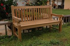 This classic Devonshire 3 seat Garden Bench is recommended by Anderson Collections for use in parks, malls, hotels, resorts, city sidewalks, or public squares.  These are the type of benches that be used heavily for many generations. With their simple and  traditional style they have charmed teak wood lovers for decades. http://www.teakwoodcentral.com/anderson-collection-devonshire-3-seat-garden-bench-extra-thick-teak-bh-705s