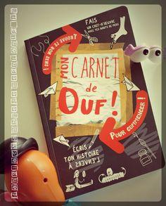 Livre activités enfants - Mon carnet de ouf - Editions Larousse