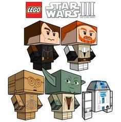 LEGO-Star-Wars-3-Ppaercraft Fonte: http://blogdebrinquedo.com.br/tag/papel+starwars/