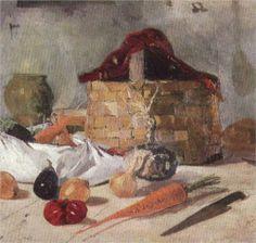 Still Life - Ion Andreescu Eugène Delacroix, Barbizon School, Brown Art, Art Database, Still Life Art, Realism Art, Traditional Art, Be Still, Fine Art America