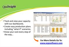 All the benefits of using a software solution for #nursery #growers: Know your #cost, track your #inventory, create #production plans. #abecas is #configurable to your needs. www.argosoftware.com #nursery #greenhouse #farm #grower #management #argos #software