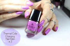 Thermal Color Changing Nail Polish Review & Demo liz breygel january girl born pretty store
