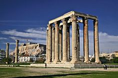 The Temple of Olympian Zeus, one of my favorite places to walk past in Athens from when I studied there in 2006