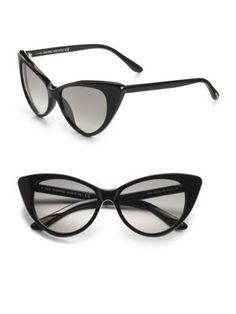 613844bcf9 Tom Ford Eyewear - Nikita 55mm Cat s-Eye Sunglasses Black Tom Ford Eyewear