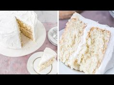 This super moist white cake recipe from scratch is the best white cake I've ever had. It's made with sour cream and has a soft and moist texture. Perfect for weddings and birthdays. Moist White Cake Rachel Duran popandrachel Recipes This s Homemade White Cakes, Homemade Cake Recipes, Cupcake Recipes, Dessert Recipes, Desserts, White Sponge Cake Recipe, Sponge Cake Recipes, Mexican Wedding Cake Recipe, Madeira Cake Recipe