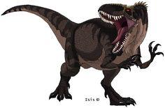 Giganotosaurus by IsisMasshiro.deviantart.com on @deviantART