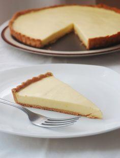 Pierre Herme's Lemon Tart and Sweet Tart Dough (Pate Sucree)