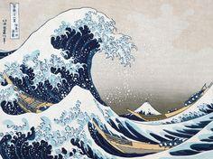 The Wave off Kanagawa (detail)