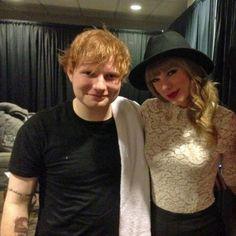 .Ed Sheeran and Taylor