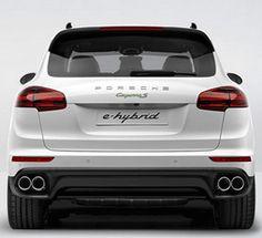 The 2015 Porsche Cayenne S E-Hybrid