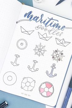 25 Best Step By Step Ocean Doodles For Bullet Journals Crazy Laura Doodle Art Bullet Crazy doodle art for beginners Doodles Journals LAURA Ocean step Bullet Journal Banner, Bullet Journal Notebook, Bullet Journal School, Bullet Journal Ideas Pages, Bullet Journal Inspiration, Bullet Journals, Life Journal, Bullet Journal For Beginners, Easy Doodles Drawings