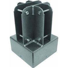 Yardistry 6 by 6 Post Top Connector by Yardistry. $39.53. Installation instructions included. Made from powder coated aluminum. Fits standard 6 by 6 posts. Stainless steel hardware included. The 6 by 6 Post Top Connector from Yardistry is the metal component used to support and connect the roof of a Yardistry project. Compatible with 6x4 posts the Post Top Connector can accommodate up to 4 individual pieces of wood. Made from powder coated aluminum the Post Top Connector wil...