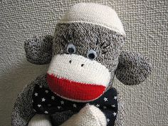 Bow Tie Sock Monkey. His name is Bowty and he is at my mother's house now.