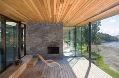About Lund Hagem Architects - Lund Hagem Arkitekter Outdoor Spaces, Outdoor Living, Modern Scandinavian Interior, Summer Cabins, Fancy Houses, Interesting Buildings, Interior Garden, Modern Rustic, Interior Architecture