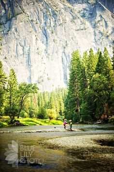 I want to take my kids to Yosemite and take a picture like this!