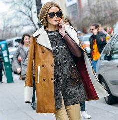 Doble abrigo - Elle magazine
