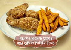 I was a bit stuck on what to make for dinner tonight, so I decided to recreate an old classic paleo style: chicken strips and fries. These paleo chicken strips use almonds for the breading, and I made sweet potato fries instead. The kids love these of course, and they're quite a bit healthier than …