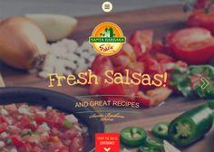 Santa Barbara Salsa #webdesign #inspiration #UI