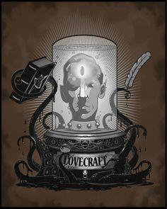 15 ilustraciones exquisitas sobre H.P Lovecraft | OLDSKULL.NET