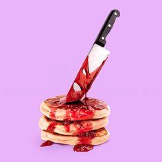 """Blutige Pancakes und rockige Avocado: Paul Fuentes' surreale Kompositionen  Mit Vorliebe würde ich in diese köstliche Handtasche beißen. """"Wie bitte?"""", denkt sich der ein oder andere jetzt bestimmt. Ja, ganz ernsthaft,..."""