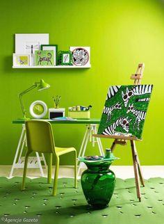 Zdjęcie numer 0 w galerii - Kolor i wzór: wiosenna zieleń