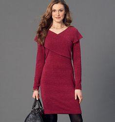 Pattern Reviews> McCall's> 7243 (Misses' Top and Dresses)