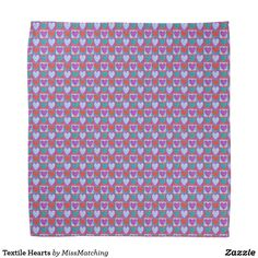 Textile Hearts Bandana