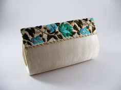 Rigid fabric purse Practical and elegant suitable for by mispBag, €35.00