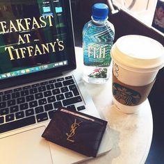 Study session going strong  #starbucks #potd #unilife #ysl #yvessaintlaurent #coffee #fashion #style #streetstyle #macbook #fashionista #luxury #blogger #fashionblog #ootd #igers #inspo #inspiration #girl #girly #f4f #followforfollow #l4l #tagsforlikes #followme #instagramers #igersvienna #love #beautiful #prettylittleiiinspo by soniaheartsfashion