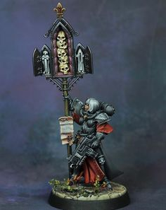 40k Sisters Of Battle, The Inquisition, The Grim, Mini Paintings, Warhammer 40000, Hobbies And Crafts, Emperor, Character Concept, Legos