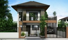 Ordinary Double Storey Houses Design