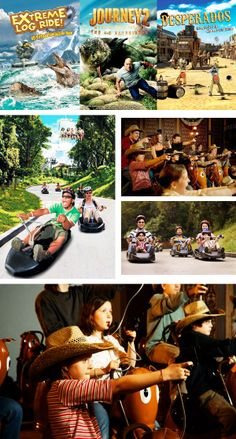 Treat your family to some fun and excitement! Jump right into the interactive rides at 4D AdventureLand, and feel what it's like to be in the movies!  Next, take on the exhilarating Skyline Luge and race down Imbiah Lookout. With the unique steering and braking system, you can take the ride as fast or slow as you want, making it suitable for any ages. And after you're done, take the skyride back up the hill to experience a gorgeous view of the skyline – the end to a perfect day.