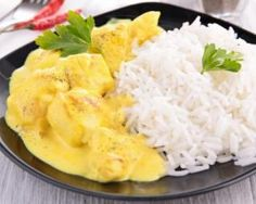 Pollo ligero al curry: www.fourchette-y … Light Recipes, Paleo Recipes, Love Food, Meal Prep, Food And Drink, Nutrition, Meals, Miley Cyrus, Cooking