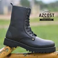 Azcost Boot Underground Kulit Pull-up